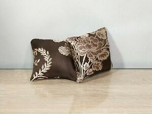 Small size two pillows for doll 1/6, 1/4 scale, for doll furniture