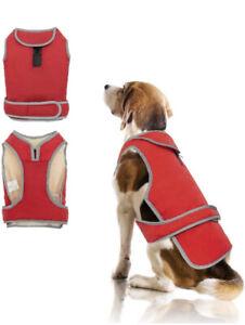 Dog Coat XL Red 01