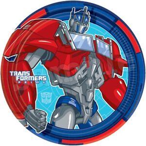 Transformers Optimus Pri Eßbar Torten-Bild-Aufleger Party Deko Muffin Geburtstag