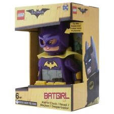 BATGIRL ALARM CLOCK lego legos NEW minifigure minifig dc BATMAN movie mini fig