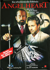 Angel Heart small German video movie poster Mickey Rourke, De Niro, Lisa Bonet