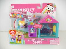 Hello Kitty Fortune Teller Booth Neighborhood Playset Friends Figures World New