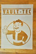 Fallout Vault Boy. hoja A4 tamaño reutilizable Plantilla de Mylar. para pintura en aerosol.