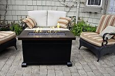 Outdoor Fire Pit Table Patio Deck Backyard Heater Fireplace Propane Furniture
