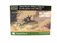 15mm Scale Unpainted Plastic Figures - WWII M3 Stuart I 'Honey' Light Tank
