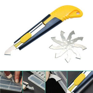 New 10x Spare Blades Acrylic Plastic Sheet Perspex Cutter Hook Cutting Hand Tool
