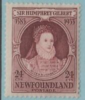 NEWFOUNDLAND 224 MINT HINGED OG * NO FAULTS EXCELLENT !