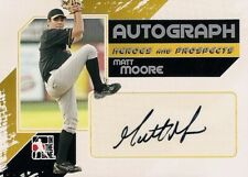 MATT MOORE 2011 In The Game Authentic RC Autograph Detroit Tigers