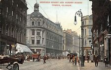 BR75379 renfield street and gordon street corner chariot  glasgow  scotland