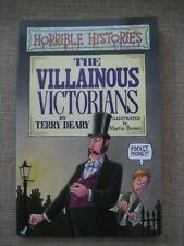 Horrible Histories book The Villainous Victorians by Terry Deary