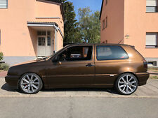VW Golf 3 GTi 16V Klima - Unikat marrakesch-braun-met. KOMPLETTER Neuaufbau 2012
