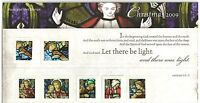 GB Presentation Pack 433 2009 Christmas Stained Glass Windows
