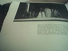 picture  1930 theatre  stanford university a a milne the ivory door