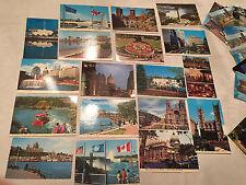 50 Vintage Niagara Falls Montreal Quebec Canada chrome Postcard Unused