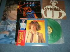 LEIF GARRETT Japan 1980 GREEN Vinyl C25Y0002 NM LP+Obi+Bonus Pin-Ups THE BEST OF
