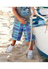 CFL Kinder karo Bermuda Shorts * Colors for Life * Größe 92 in blau karriert NEU