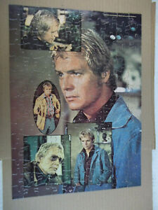 Vintage Starsky and Hutch Puzzle Street Fight 150 pcs Jigsaw Puzzle HG Toys 1976