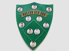 1962 Boston Red Sox Salada Tea/Junket Desert Complete Set of 10 with Shield