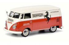 """1/43 VW COMBI  VOLKSWAGEN T1C """"FERRARI-ABARTH""""SCHUCO450369800"""