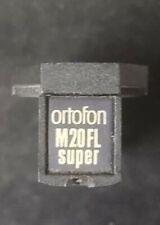 RARE ORTOFON GOLD M20FL SUPER MM STEREO CARTRIDGE W/O STYLUS