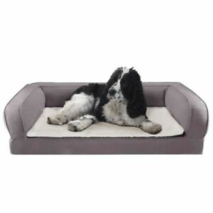 Orthopaedic Dog Bed Memory Foam Pain Relief Sofa Couch Pet Pillow Old Senior