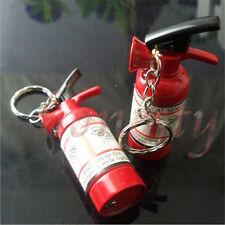 Fire Extinguisher Refillable Butane Gas Flame Cigar Cigarette Keychain Lighter