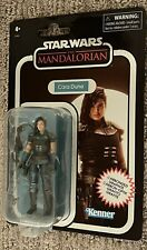 """STAR WARS VINTAGE COLLECTION 3.75"""" THE MANDALORIAN CARA DUNE CARBONIZED IN STOCK"""
