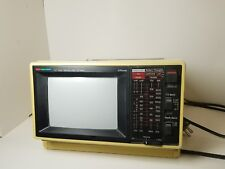 Jcpenny 5.5 Color Television Am Fm Radio Model 685-2190 Tested Sold As-Is