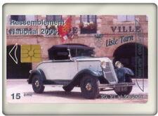 Télécarte Neuve Personnalisé CAR OCCITAN 2004 Renault Prima 4 + carte postale