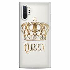 For Samsung S20 Case Ultra S10 Plus Note 20 5G S10e Queen Quote Silicone Design