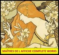 JULES CHERET Les Maitres De L Affiche Complete Works Poster Art Nouveau Decor