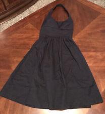B. Darlin Navy Blue Halter Dress Size 3/4