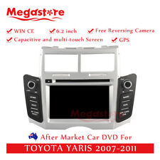 "6.2"" Car Dvd Gps Navigation Head Unit Stereo For Toyota Yaris 2007-2011"