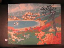 "Original Serigraph by Max Hayslette ""Music For A Garden"""