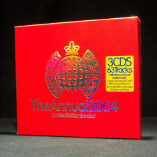 MINISTRY OF SOUND - Annual 2004 Édition Limitée Coffret - MUSIQUE ALBUM CD x 3