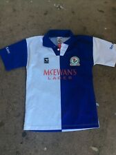 JERSEY BLACKBURN ROVERS FC 1875 size M EMBROIDERED LOGO