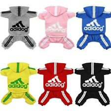 dog Tracksuit clothes Hoodies Sweatshirt clothes for dogs