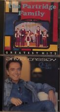 THE PARTRIDGE FAMILY GREATEST HITS + BONUS DAVID CASSIDY OLD TRICK NEW DOG!!!!!!
