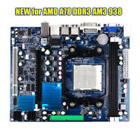 NEW For AMD A78 Socket AM3 938 Mainboard DDR3 8GB MicroATX Computer Motherboard