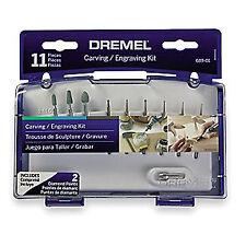 DREMEL Carving/Engraving Kit,Rotary Tool,Pc 11, 689-01