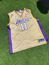 New listing la lakers jersey Reebok XL Mens Gold Ultra Rare Collectors Basketball Reebok NBA