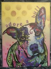"New ListingAdore A Bull 9x12"" Wood Wall Art"