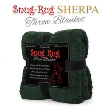 Genuine Snug Rug ™ Luxury BLANKET Warm Soft Throw Fleece Official 270gsm Sherpa