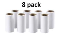 8x IKEA BASTIS Lint Roller Refills - Peelable Sticky Rolls For BÄSTIS Hair Roll