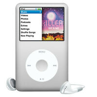 Apple iPod Classic 6th Generation Silver (120GB) Good Condition COMPLETE