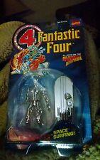 """NIW 1994 Toybiz Marvel Comics Fantastic Four SILVER SURFER 5"""" Action Figure"""