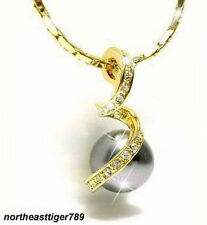 Pearl Chain Yellow Gold Fashion Necklaces & Pendants