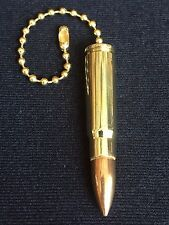 Authentic 7.62x39 mm Caliber Bullet Ceiling Fan/Light/Lamp Pull Chain, NRA