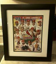 2005 Busch Stadium Final Season Framed Photo St. Louis Cardinals man cave matted