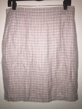 Charter Club Women's Pink Checkered Skirt Size 14 NWT MSRP $59.00